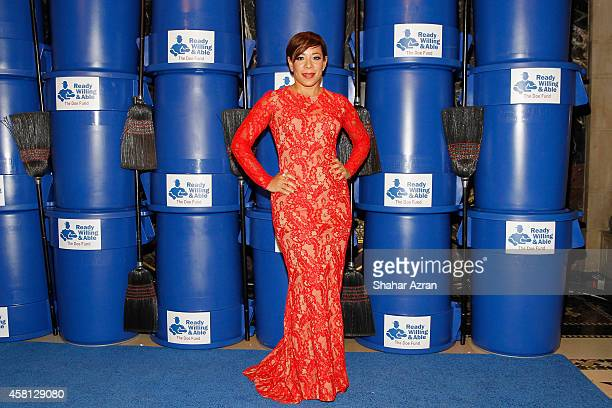 Actress Selenis Leyva attends the 2014 Doe Fund Benefit Gala Celebration at Cipriani 42nd Street on October 30 2014 in New York City