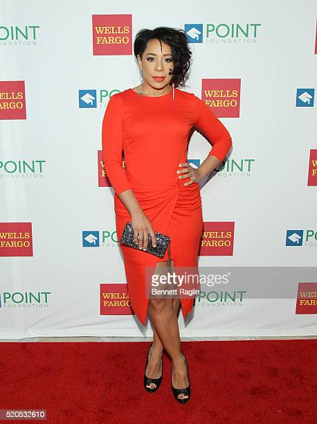 Actress Selenis Leyva attends the 2016 Point Honors Gala at New York Public Library on April 11 2016 in New York City