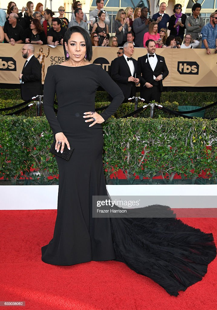Actress Selenis Leyva attends The 23rd Annual Screen Actors Guild Awards at The Shrine Auditorium on January 29, 2017 in Los Angeles, California. 26592_008