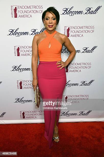 Actress Selenis Leyva attends the 7th Annual Blossom Ball Benefiting The Endometriosis Foundation Of America Hosted By EFA Founders Padma Lakshmi And...