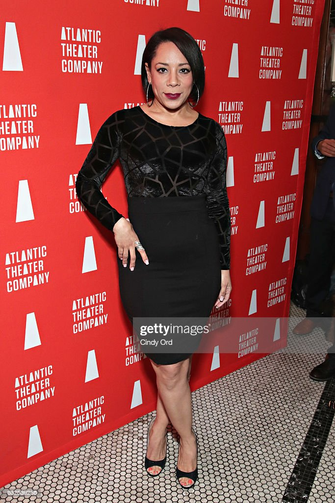 Actress Selenis Leyva attends the 'Tell Hector I Miss Him' Opening Night Party at Jake's Saloon on January 23, 2017 in New York City.