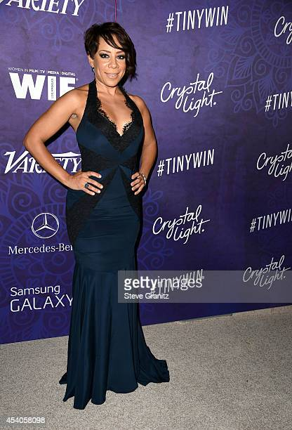 Actress Selenis Leyva attends Variety and Women in Film Annual PreEmmy Celebration at Gracias Madre on August 23 2014 in West Hollywood California