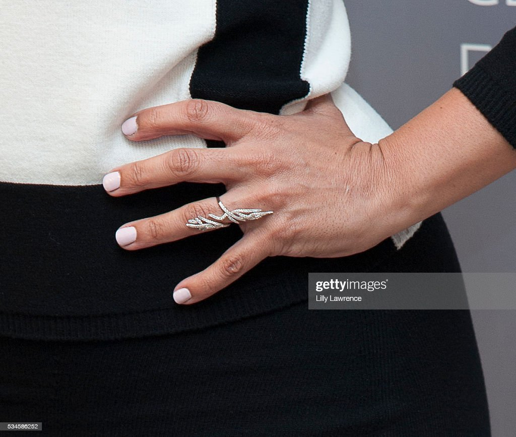 Actress <a gi-track='captionPersonalityLinkClicked' href=/galleries/search?phrase=Selenis+Leyva&family=editorial&specificpeople=7787754 ng-click='$event.stopPropagation()'>Selenis Leyva</a>, ring detail, attends Paleylive