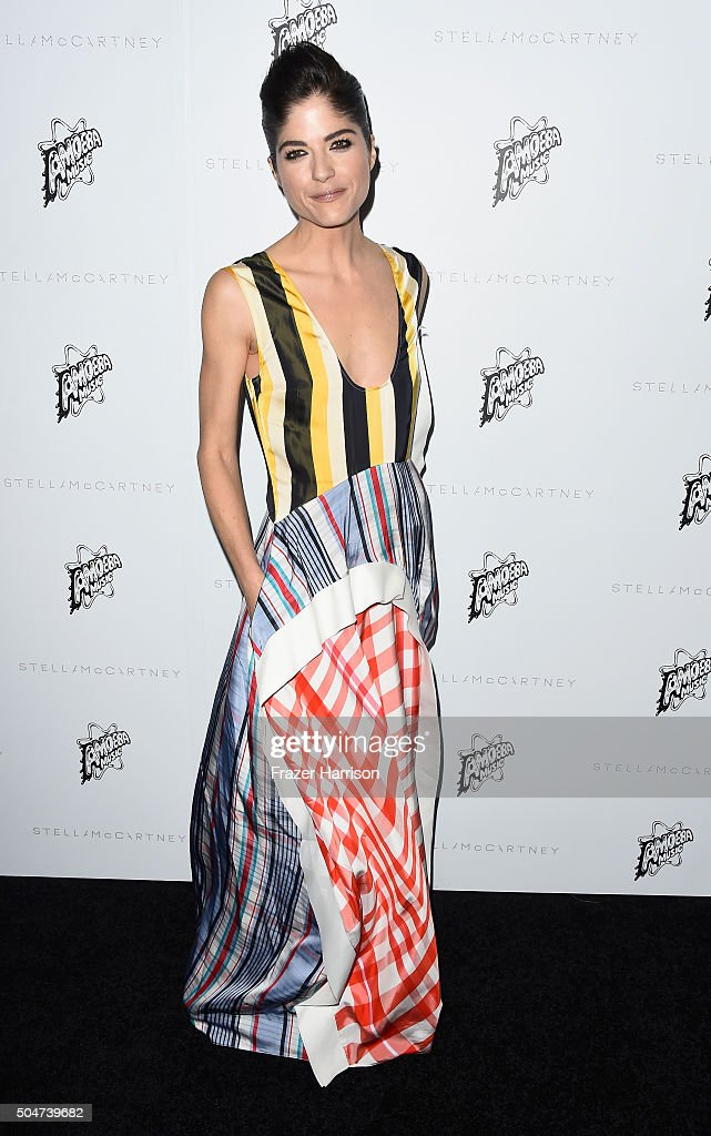 Actress Selma Blair arrives at Stella McCartney Autumn 2016 Presentation at Amoeba Music on January 12 2016 in Los Angeles California