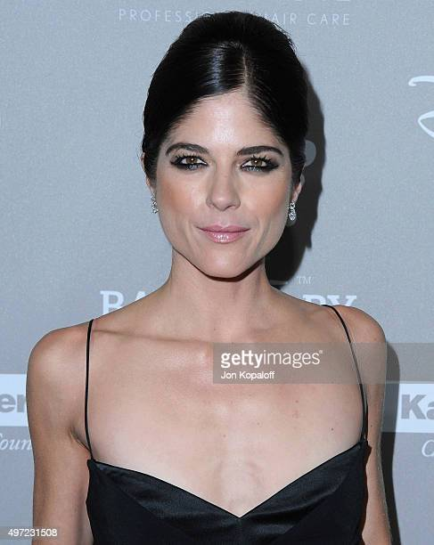 Actress Selma Blair arrives at the 2015 Baby2Baby Gala at 3LABS on November 14 2015 in Culver City California