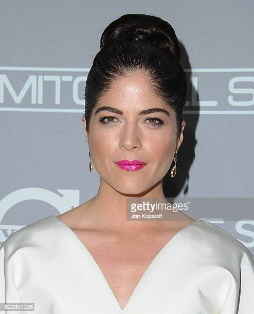 Actress Selma Blair arrives at the 5th Annual Baby2Baby Gala at 3LABS on November 12 2016 in Culver City California