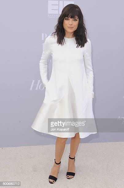 Actress Selma Blair arrives at The Hollywood Reporter's Annual Women In Entertainment Breakfast at Milk Studios on December 9 2015 in Los Angeles...