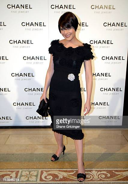 Actress Selma Blair attends 'Night Of Diamonds' hosted by Chanel Fine Jewelry on January 16 2008 in New York City New York