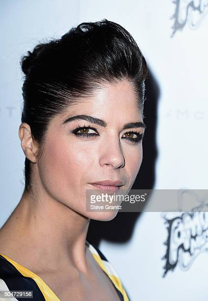 Actress Selma Blair attends Stella McCartney Autumn 2016 Presentation at Amoeba Music on January 12 2016 in Los Angeles California
