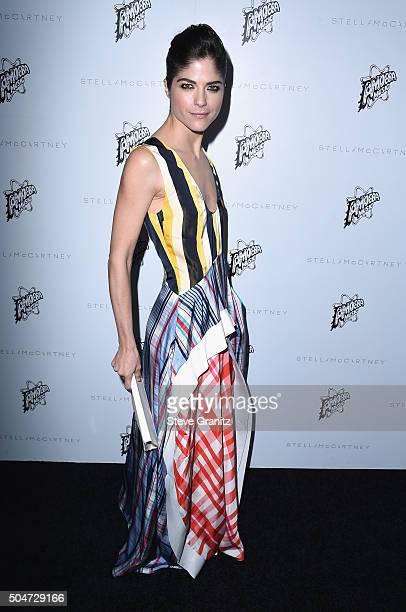 Actress Selma Blair attends Stella McCartney Autumn 2016 Presentation at Amoeba Music on January 12 2016 in Los Angeles California