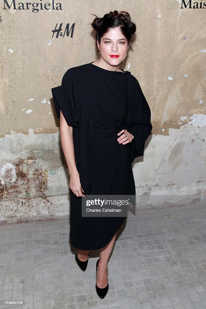 Actress Selma Blair attends the Maison Martin Margiela & H&M Global launch party at 5 Beekman on October 23, 2012 in New York City.