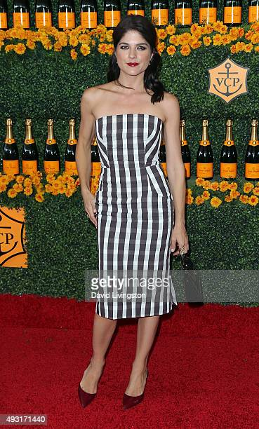 Actress Selma Blair attends the SixthAnnual Veuve Clicquot Polo Classic Los Angeles at Will Rogers State Historic Park on October 17 2015 in Pacific...