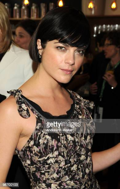 Actress Selma Blair attends the Women's Filmmaker brunch hosted by Ebel during the 2010 Tribeca Film Festival at City Hall New York on April 27 2010...
