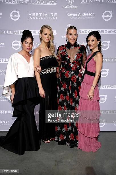 Actress Selma Blair copresident of Baby2Baby Kelly Sawyer Patricof actress Busy Philipps and copresident of Baby2Baby Norah Weinstein attend the...