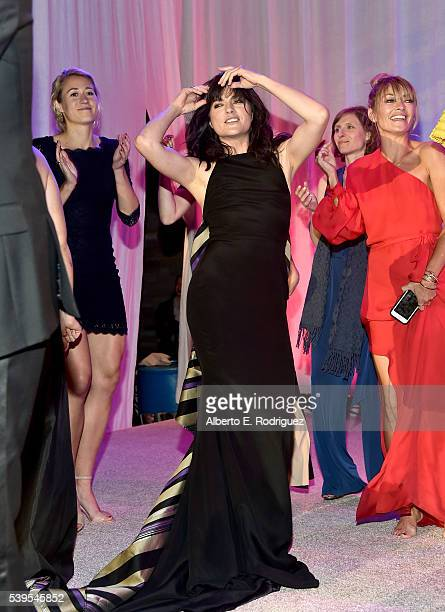 Actress Selma Blair dances during the 15th Annual Chrysalis Butterfly Ball at a Private Residence on June 11 2016 in Brentwood California