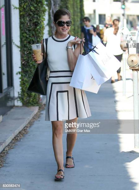 Actress Selma Blair is seen on August 11 2017 in Los Angeles California