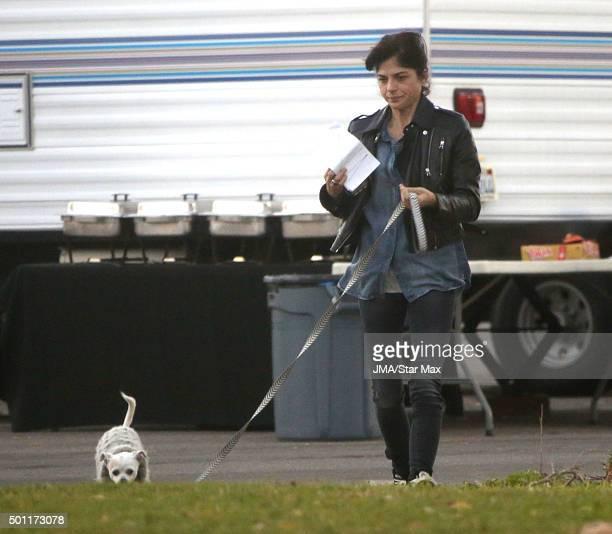 Actress Selma Blair is seen on December 12 2015 in Los Angeles California