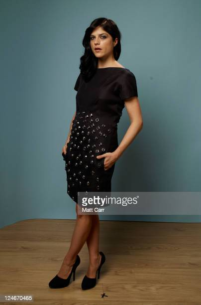 Actress Selma Blair of 'Dark Horse' poses during the 2011 Toronto Film Festival at Guess Portrait Studio on September 11 2011 in Toronto Canada