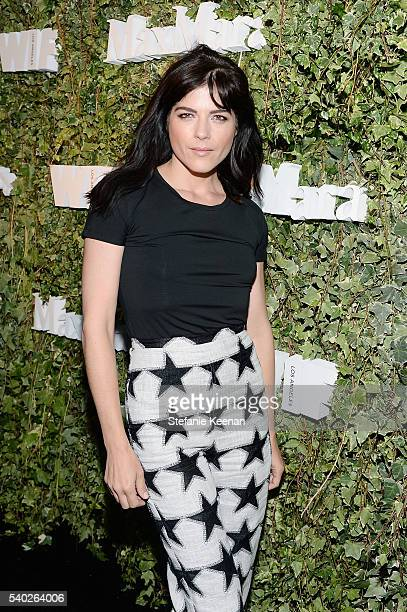 Actress Selma Blair wearing Max Mara attends Max Mara Celebrates Natalie Dormer The 2016 Women In Film Max Mara Face Of The Future at Chateau Marmont...