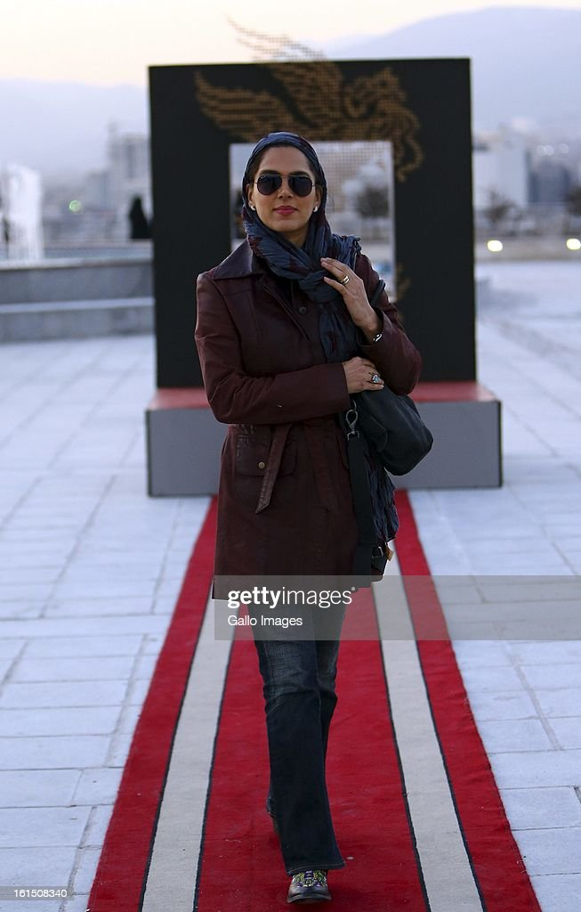 Actress Sepideh Alai at Day 9 of the 31th International Fajr Film Festival on February 8, 2013 in Tehran, Iran. Organized by the Ministry of Culture and Islamic Guidance, the Film Festival is the most important film event in the country.