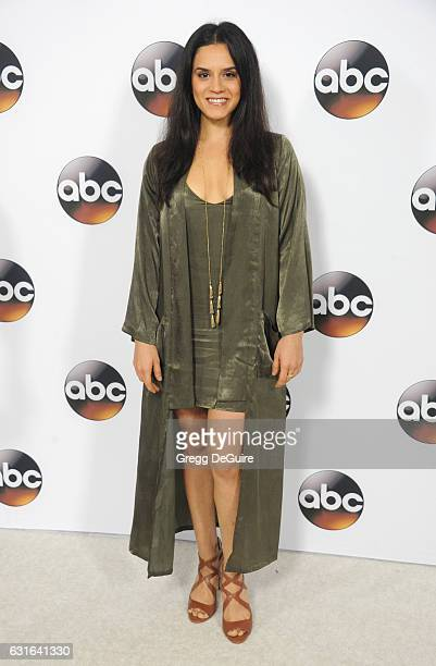 Actress Sepideh Moafi arrives at the 2017 Winter TCA Tour Disney/ABC at the Langham Hotel on January 10 2017 in Pasadena California