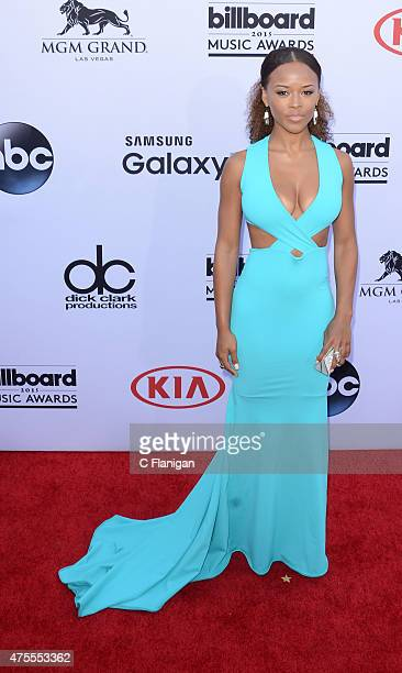 Actress Serayah arrives at the 2015 Billboard Music Awards at MGM Garden Arena on May 17 2015 in Las Vegas Nevada