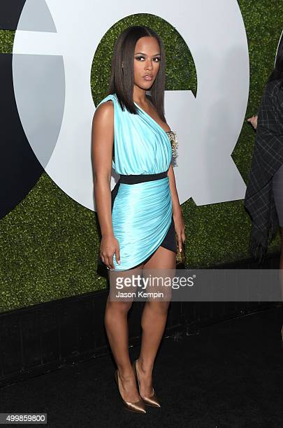 Actress Serayah attends the GQ 20th Anniversary Men Of The Year Party at Chateau Marmont on December 3 2015 in Los Angeles California