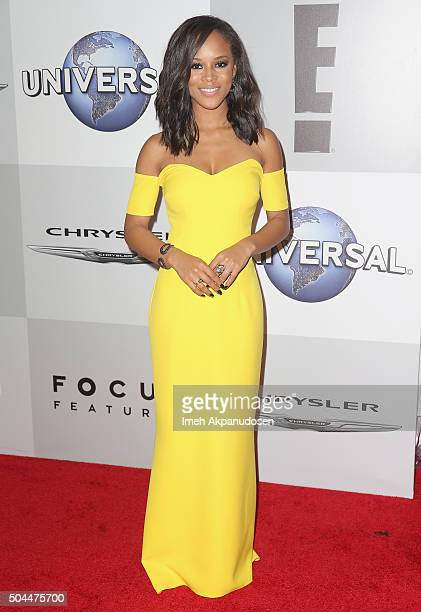 Actress Serayah McNeill attends Universal NBC Focus Features and E Entertainment Golden Globe Awards After Party sponsored by Chrysler at The Beverly...