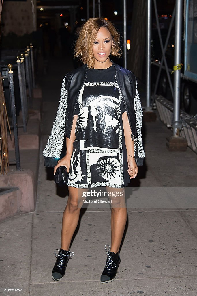 Actress Serayah McNeill attends Vogue Covergirl Fox celebrate 'Empire' at Omar's La Ranita on March 21 2016 in New York City