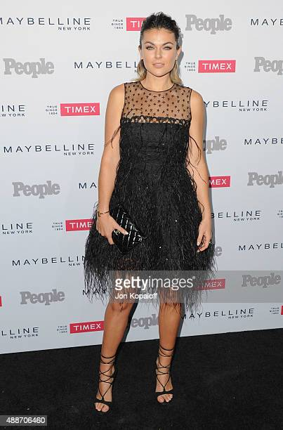 Actress Serinda Swan arrives at People's 'Ones To Watch' Event at Ysabel on September 16 2015 in West Hollywood California