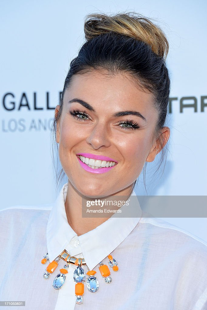 Actress Serinda Swan arrives at the Leica Store Los Angeles Grand Opening at Leica on June 20, 2013 in Los Angeles, California.