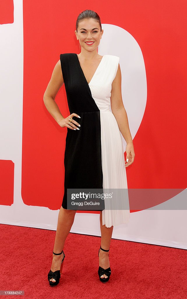 Actress <a gi-track='captionPersonalityLinkClicked' href=/galleries/search?phrase=Serinda+Swan&family=editorial&specificpeople=4388541 ng-click='$event.stopPropagation()'>Serinda Swan</a> arrives at the Los Angeles premiere of 'Red 2' at Westwood Village on July 11, 2013 in Los Angeles, California.