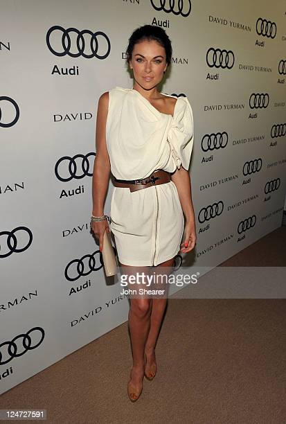 Actress Serinda Swan attends Audi and David Yurman Kick Off Emmy Week 2011 and Support Tuesday's Children at Cecconi's Restaurant on September 11...