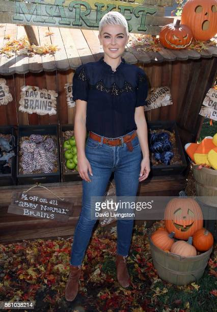 Actress Serinda Swan attends Hallmark's 'Home Family' at Universal Studios Hollywood on October 13 2017 in Universal City California
