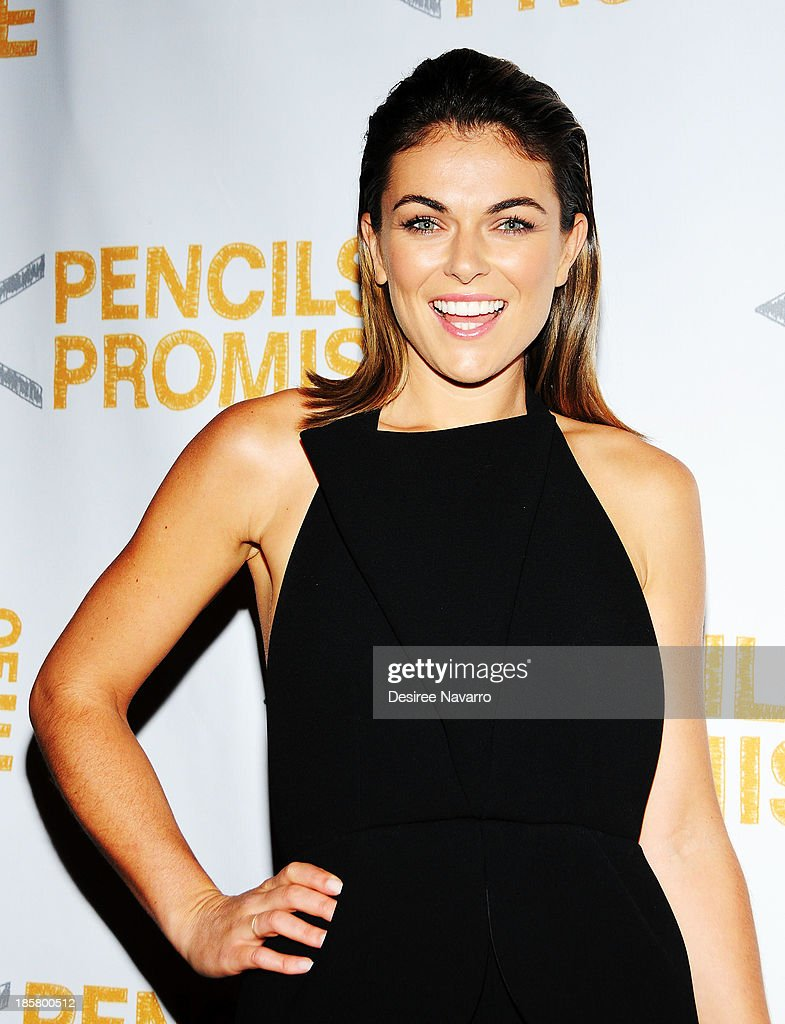Actress <a gi-track='captionPersonalityLinkClicked' href=/galleries/search?phrase=Serinda+Swan&family=editorial&specificpeople=4388541 ng-click='$event.stopPropagation()'>Serinda Swan</a> attends the 3rd annual Pencils of Promise Gala at Guastavino's on October 24, 2013 in New York City.