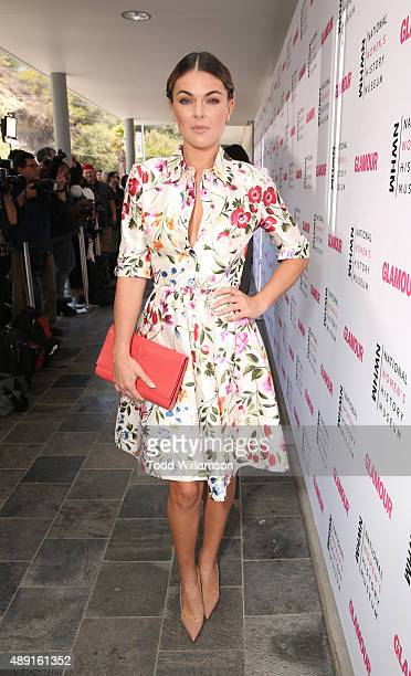 Actress Serinda Swan attends the 4th Annual Women Making History Brunch presented by the National Women's History Museum and Glamour Magazine at...