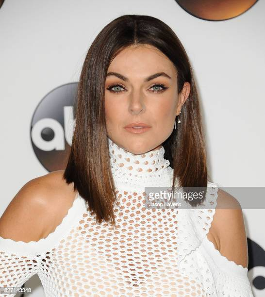 Actress Serinda Swan attends the Disney ABC Television Group TCA summer press tour at The Beverly Hilton Hotel on August 6 2017 in Beverly Hills...