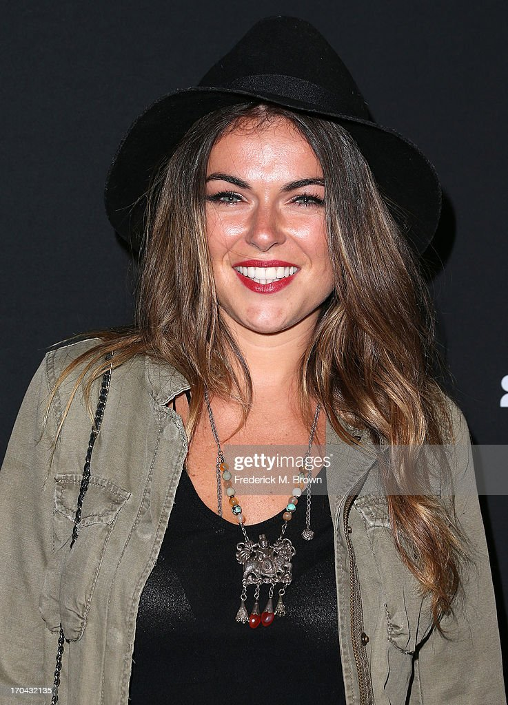 Actress Serinda Swan attends the Myspace Event at the El Rey Theatre on June 12, 2013 in Los Angeles, California.