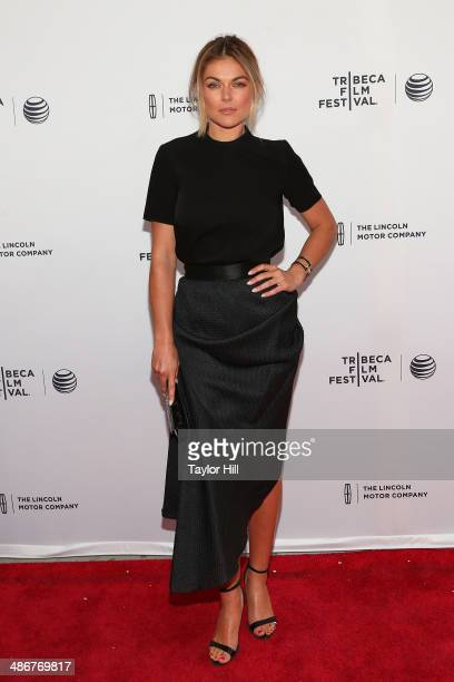 Actress Serinda Swan attends the premiere of 'Sister' during the 2014 Tribeca Film Festival at SVA Theater on April 25 2014 in New York City