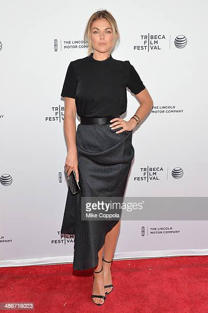 Actress Serinda Swan attends the 'Sister' Premiere during the 2014 Tribeca Film Festival at the SVA Theater on April 25 2014 in New York City