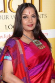 Actress Shabana Azmi attends the 2011 Light of India awards at The Waldorf=Astoria on April 22 2011 in New York City