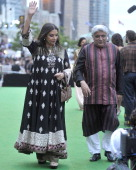 Actress Shabana Azmi attends the IIFA Awards green Carpet at the Rogers Centre on June 25 2011 in Toronto Canada