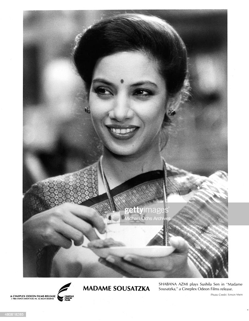 Actress <a gi-track='captionPersonalityLinkClicked' href=/galleries/search?phrase=Shabana+Azmi&family=editorial&specificpeople=565786 ng-click='$event.stopPropagation()'>Shabana Azmi</a> in a scene from the Cineplex Odeon movie 'Madame Sousatzka ' , circa 1988.