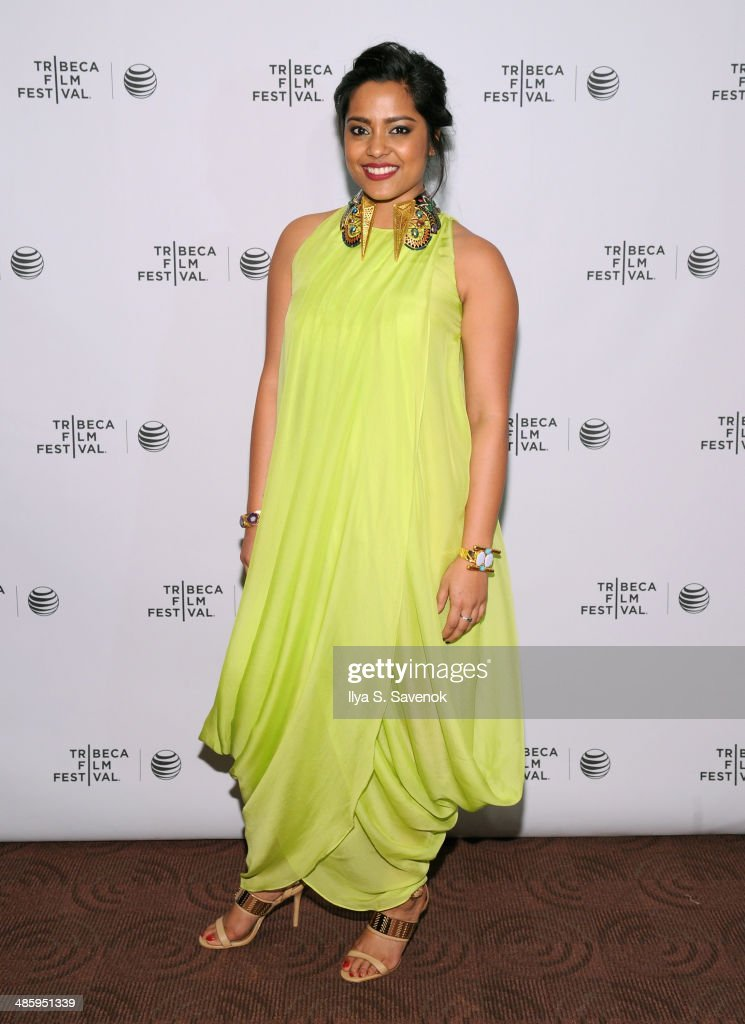 Actress Shahana Goswami attends the 'Vara: Blessing' Premiere during the 2014 Tribeca Film Festival at Chelsea Bow Tie Cinemas on April 21, 2014 in New York City.