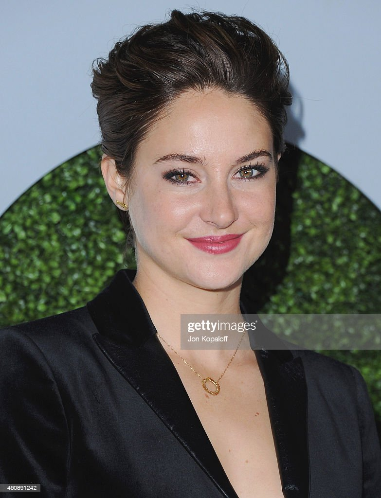 Actress <a gi-track='captionPersonalityLinkClicked' href=/galleries/search?phrase=Shailene+Woodley&family=editorial&specificpeople=676833 ng-click='$event.stopPropagation()'>Shailene Woodley</a> arrives at the 2014 GQ Men Of The Year Party at Chateau Marmont on December 4, 2014 in Los Angeles, California.