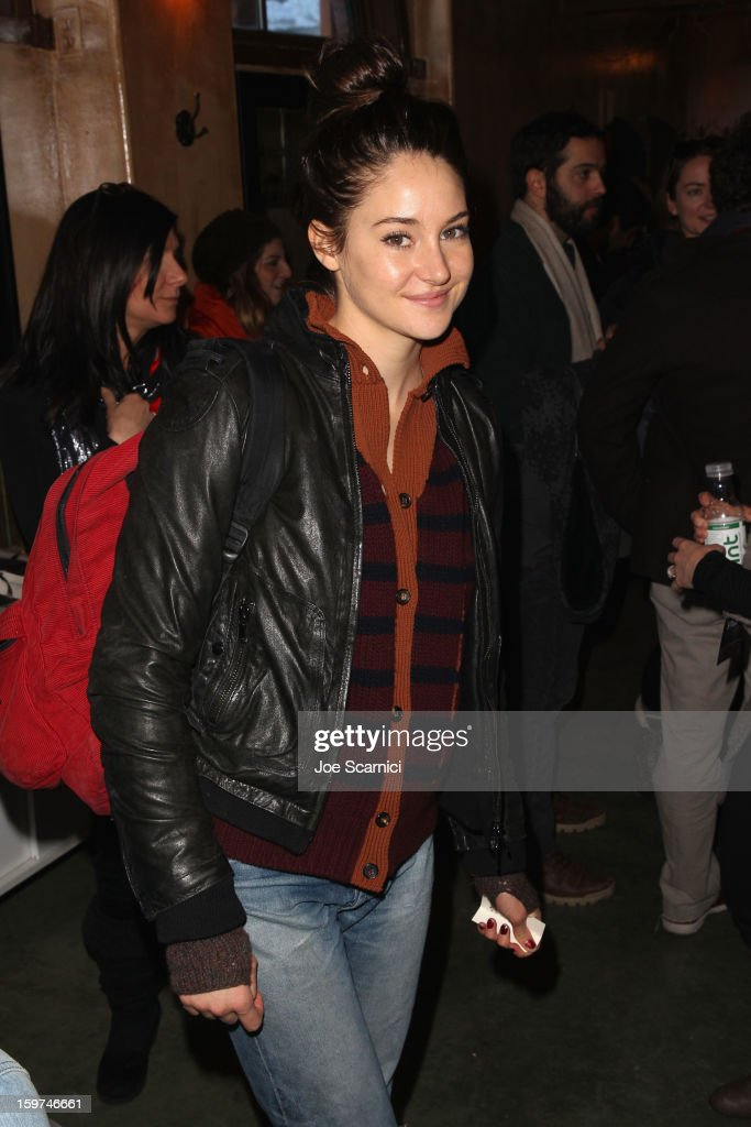 Actress Shailene Woodley attends Day 1 of the Variety Studio at 2013 Sundance Film Festival on January 19, 2013 in Park City, Utah.