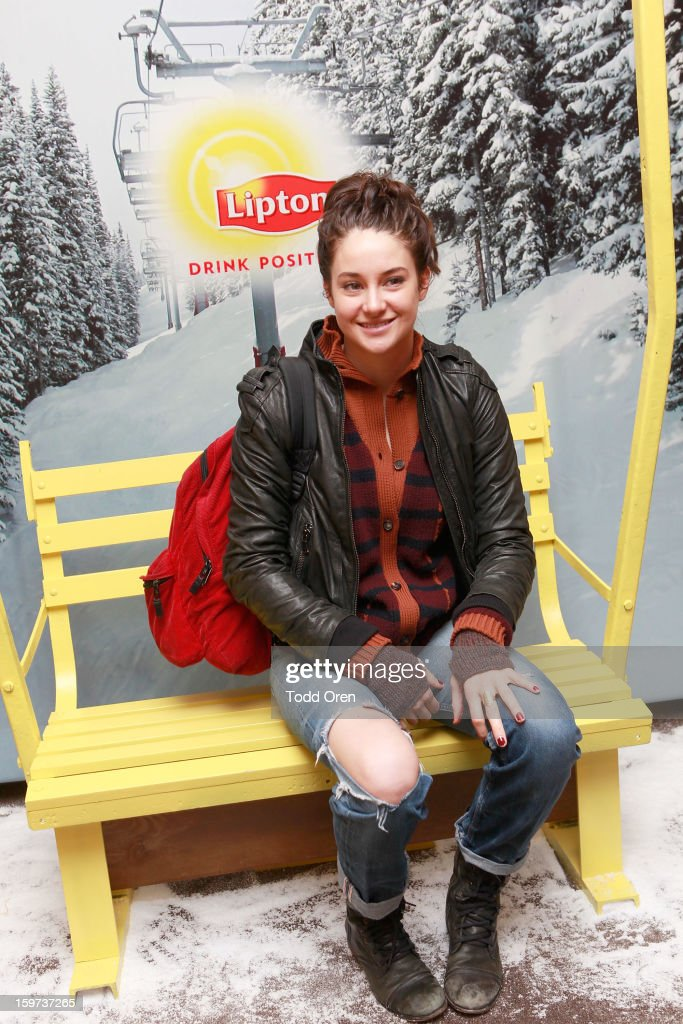 Actress Shailene Woodley attends Day 2 of Sears Shop Your Way Digital Recharge Lounge on January 19, 2013 in Park City, Utah.