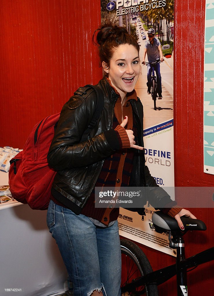 Actress Shailene Woodley attends Day 2 of the Kari Feinstein Style Lounge on January 19, 2013 in Park City, Utah.