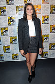 Actress Shailene Woodley attends 'Snowden' panel during ComicCon International 2016 at San Diego Convention Center on July 21 2016 in San Diego...