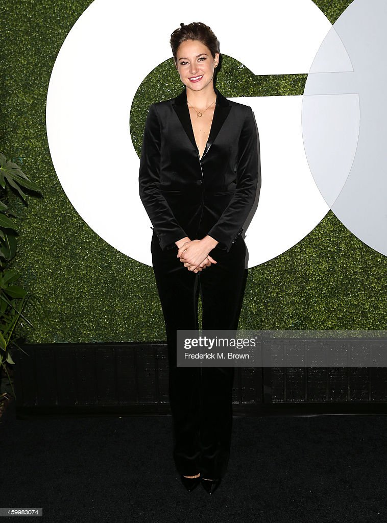 Actress <a gi-track='captionPersonalityLinkClicked' href=/galleries/search?phrase=Shailene+Woodley&family=editorial&specificpeople=676833 ng-click='$event.stopPropagation()'>Shailene Woodley</a> attends the 2014 GQ Men of the Year Party at Chateau Marmont's Bar Marmont on December 4, 2014 in Hollywood, California.